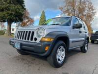 2006 Jeep Liberty Sport 4dr SUV 4WD w/ Front Side Curtain Airbags