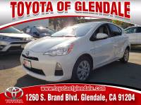 Used 2014 Toyota Prius C for Sale at Dealer Near Me Los Angeles Burbank Glendale CA Toyota of Glendale | VIN: JTDKDTB34E1062685