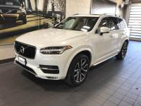 Ice White Used 2018 Volvo XC90 T6 AWD 7-Passenger Momentum For Sale in Moline IL | S21111A