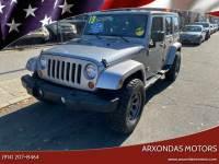 2013 Jeep Wrangler Unlimited 4x4 Sahara 4dr SUV