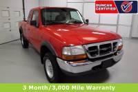 Used 1999 Ford Ranger For Sale at Duncan Hyundai | VIN: 1FTZR15V7XTA37238