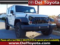 Used 2013 Jeep Wrangler Unlimited Sport For Sale in Thorndale, PA | Near West Chester, Malvern, Coatesville, & Downingtown, PA | VIN: 1C4BJWDG6DL637057