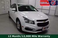 Used 2015 Chevrolet Cruze For Sale at Duncan's Hokie Honda | VIN: 1G1PC5SBXF7250517