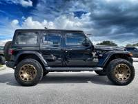 Used 2020 Jeep Wrangler Unlimited BLACK N BRONZE SAHARA HARDTOP LEATHER LIFTED