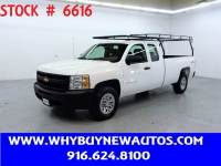 2012 Chevrolet Silverado 1500 ~ 4x4 ~ Extended Cab ~ Only 49K Miles!