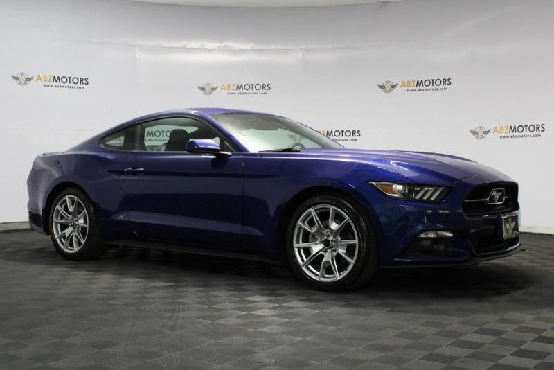 Photo 2015 Ford Mustang EcoBoost 50 Year, RearView Cam,6 Speed Manual