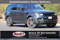 Used 2017 Land Rover Range Rover Sport 3.0L V6 Supercharged HSE For Sale in Colma CA | Stock: SHA153953 | San Francisco Bay Area