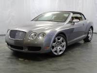 2008 Bentley Continental GT 6.0L 48-Valve Twin-Turbo W12 Engine / Soft CONVERTIBLE Top