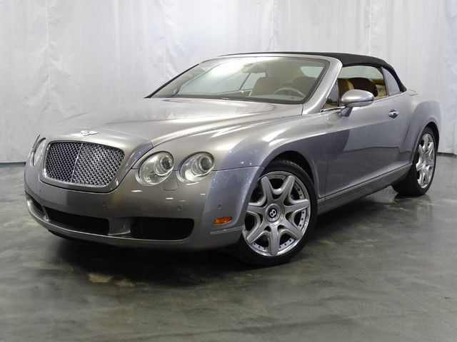 Photo 2008 Bentley Continental GT 6.0L 48-Valve Twin-Turbo W12 Engine  Soft CONVERTIBLE Top