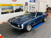 1969 Chevrolet Camaro - SUPER SPORT CONVERTIBLE TRIBUTE - X 11 TRIM CODE - FACTORY DUSK BLUE - SE