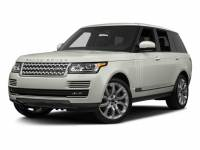 Used 2016 Land Rover Range Rover Supercharged SUV