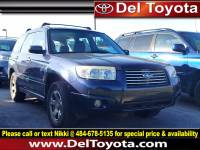 Used 2006 Subaru Forester 2.5 X For Sale in Thorndale, PA | Near West Chester, Malvern, Coatesville, & Downingtown, PA | VIN: JF1SG63646H758768