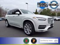 Certified Used 2018 Volvo XC90 T6 AWD Inscription (7 Passenger) in Crystal White For Sale in Somerville NJ | SP0163