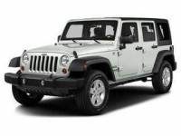 2016 Jeep Wrangler Unlimited 4x4 Sahara 4dr SUV