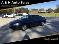 2003 Honda Accord EX 2dr Coupe