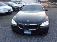 2013 BMW 7 Series 750Li 4dr Sedan