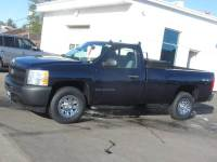 2009 Chevrolet Silverado 1500 4x4 Work Truck 2dr Regular Cab 8 ft. LB