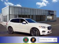 Certified Used 2020 Volvo XC60 T6 Momentum in Crystal White For Sale in Somerville NJ   SB5100
