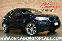 2018 BMW X6 xDrive 35i M-SPORT - 3.0L TURBOCHARGED INLINE 6 ENGINE ALL WHEEL DRIVE NAVIGATION TOP VIEW CAMERAS IVORY/BLACK LEATHER HEATED SEATS SUNROOF HEADS-UP DISPLAY