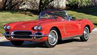 1962 Chevrolet Corvette #s Matching Fuel Injected Red Red