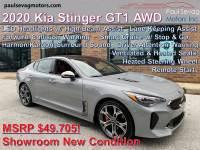 Used 2020 Kia Stinger GT1 AWD For Sale at Paul Sevag Motors, Inc. | VIN: KNAE45LC3L6076601