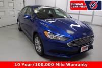 Used 2017 Ford Fusion For Sale at Duncan Hyundai | VIN: 3FA6P0H77HR370015