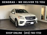 Pre-Owned 2012 Mercedes-Benz M-Class ML 550