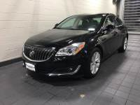 Black Onyx Used 2016 Buick Regal 4dr Sdn Premium II AWD For Sale in Moline IL | C1991B