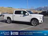 2016 Ford F-150 Limited CREW CAB SHORT BED TRUCK V6 ECOBOOST ENGINE