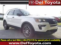 Used 2018 Ford Explorer Sport For Sale in Thorndale, PA | Near West Chester, Malvern, Coatesville, & Downingtown, PA | VIN: 1FM5K8GT5JGA17413
