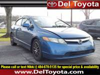 Used 2006 Honda Civic LX For Sale in Thorndale, PA   Near West Chester, Malvern, Coatesville, & Downingtown, PA   VIN: 1HGFA16586L119360