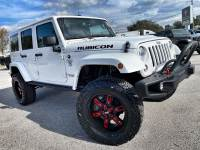 Used 2016 Jeep Wrangler Unlimited RUBICON HARD ROCK LIFTED LEATHER NAV FOX SHOCKS