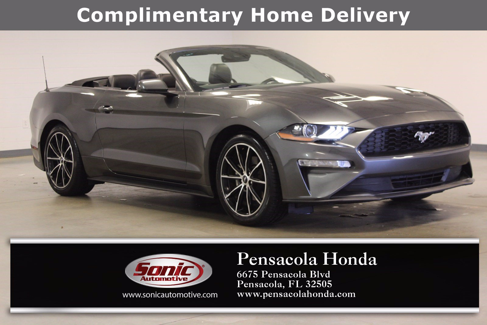 Photo Used 2020 Ford Mustang EcoBoost Premium in Pensacola