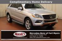 Pre-Owned 2013 Mercedes-Benz M-Class ML 350 in Fort Myers