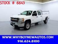 2012 Chevrolet Silverado 3500HD ~ 4x4 ~ Crew Cab ~ Only 21K Miles!