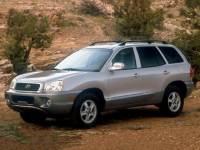 Used 2003 Hyundai Santa Fe For Sale in Jacksonville at Duval Acura | VIN: KM8SC13E03U538557