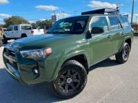 Used 2021 Toyota 4Runner ARMY GREEN 4RUNNER 4X4 YAKIMA RACK