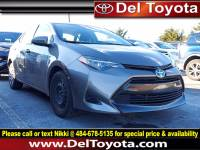 Used 2019 Toyota Corolla LE For Sale in Thorndale, PA | Near West Chester, Malvern, Coatesville, & Downingtown, PA | VIN: 2T1BURHE1KC190787