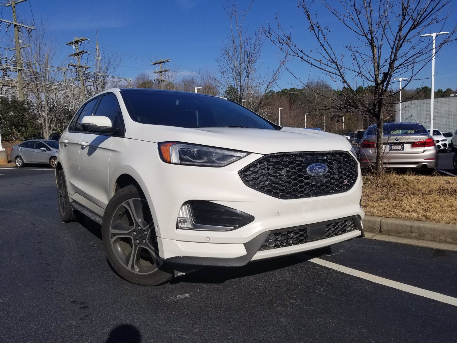 Photo Pre-Owned 2020 Ford Edge ST SUV in Greenville, SC