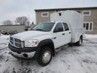 Used 2008 Dodge Ram 4500 4x2 Crew-Cab Service Utility Truck
