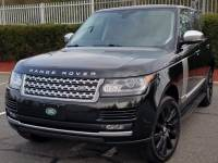 2015 Land RoverRange Rover 4WD Supercharged,Vision Assist Pack, Driver Assistan,Navigation,Running Board