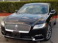 2018 Lincoln Continental Select w/Leather,Navigation ,Back-up Camera,Twin Panel Moonroof W/Power Shade