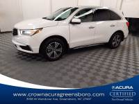 Certified 2018 Acura MDX 3.5L CERTIFIED in Greensboro NC