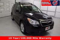 Used 2015 Subaru Forester For Sale at Duncan Hyundai | VIN: JF2SJADC3FH593316