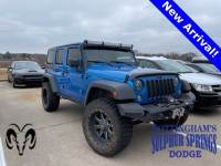 Used 2015 Jeep Wrangler Unlimited Sport SUV