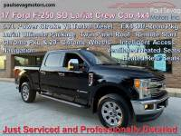 Used 2017 Ford F-250 SD Lariat Crew Cab 4x4 For Sale at Paul Sevag Motors, Inc. | VIN: 1FT7W2BT6HED97809