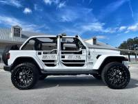 Used 2020 Jeep Wrangler Unlimited WHITEOUT TURBO SAHARA CUSTOM LIFTED LEATHER NAV
