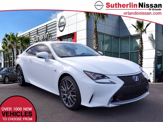 Photo Used 2017 Lexus RC RC 350 F Sport Coupe