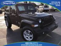 Used 2020 Jeep Wrangler Sport For Sale in Orlando, FL (With Photos)   Vin: 1C4GJXANXLW204921