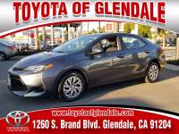 Used 2019 Toyota Corolla for Sale at Dealer Near Me Los Angeles Burbank Glendale CA Toyota of Glendale | VIN: 2T1BURHE6KC144209